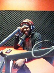 Passage en direct radio Tropiques FM