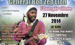 Nouveau rendez-vous avec General Bob Zep Lion