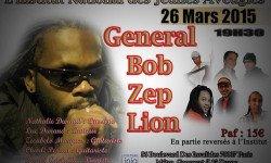 Rendez-vous avec General Bob Zep Lion à l'Institut National des jeunes aveugles